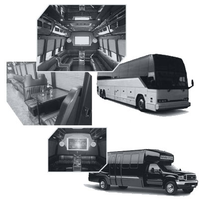 Party Bus rental and Limobus rental in Minneapolis, MN