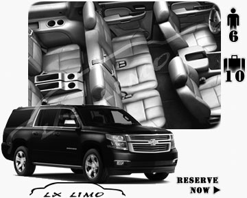 SUV Suburban for hire in Minneapolis