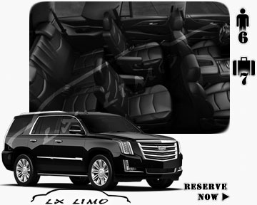 SUV Escalade for hire in Minneapolis, MN