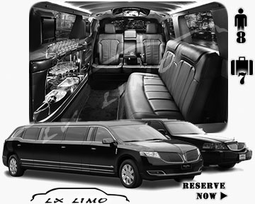 Stretch TownCar Limo for hire in Minneapolis, MN