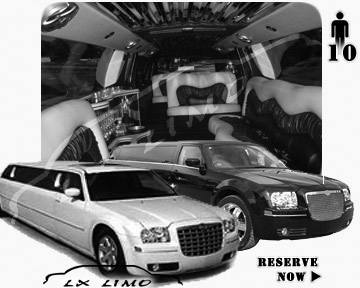 Chrysler 300 Limo for wedding in Minneapolis